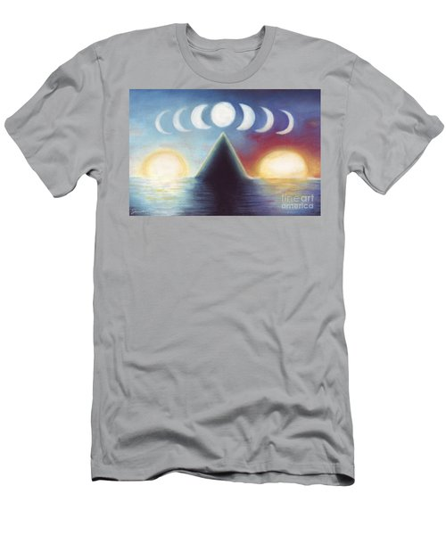 Dawn Dusk And In-between Men's T-Shirt (Athletic Fit)