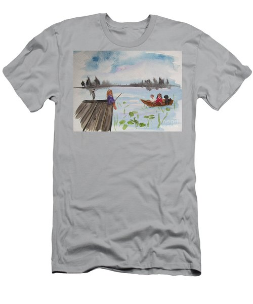 Day Of Fishing Men's T-Shirt (Athletic Fit)