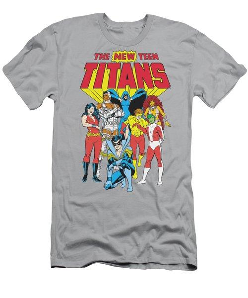 Dc - New Teen Titans Men's T-Shirt (Athletic Fit)