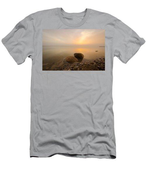 Dead Sea Sunrise Men's T-Shirt (Athletic Fit)