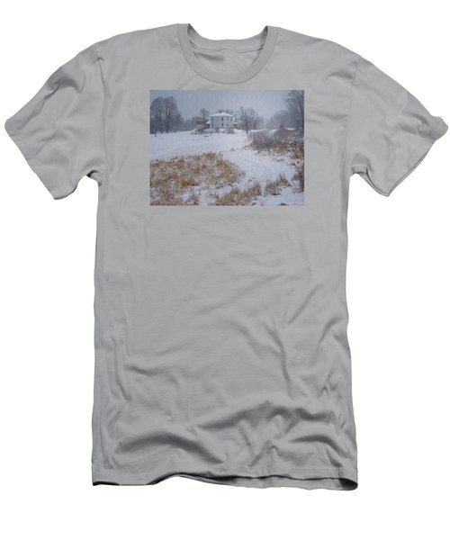 Men's T-Shirt (Slim Fit) featuring the photograph December by Joy Nichols