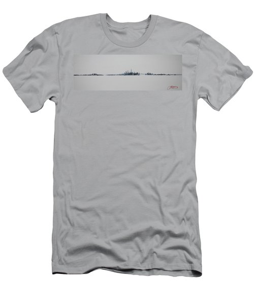 December Sky Men's T-Shirt (Slim Fit)