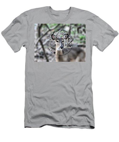 Deer Hunter's View Men's T-Shirt (Athletic Fit)