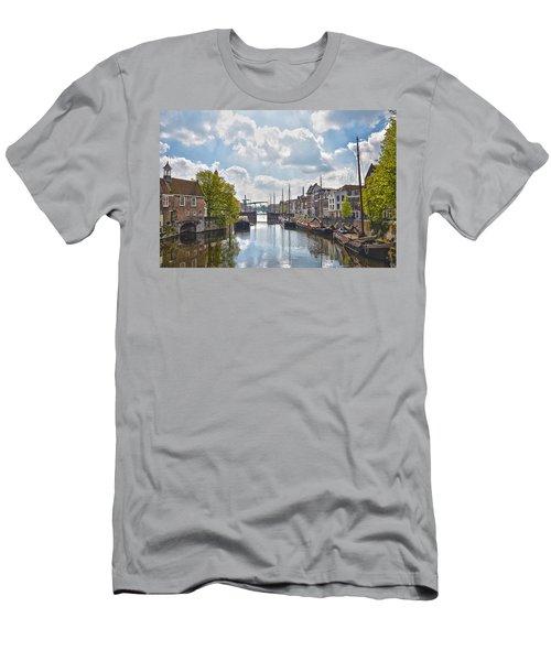 Delfshaven Rotterdam Men's T-Shirt (Slim Fit) by Frans Blok