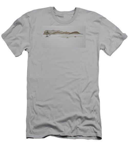 Desert Oasis Men's T-Shirt (Slim Fit) by Christine Lathrop