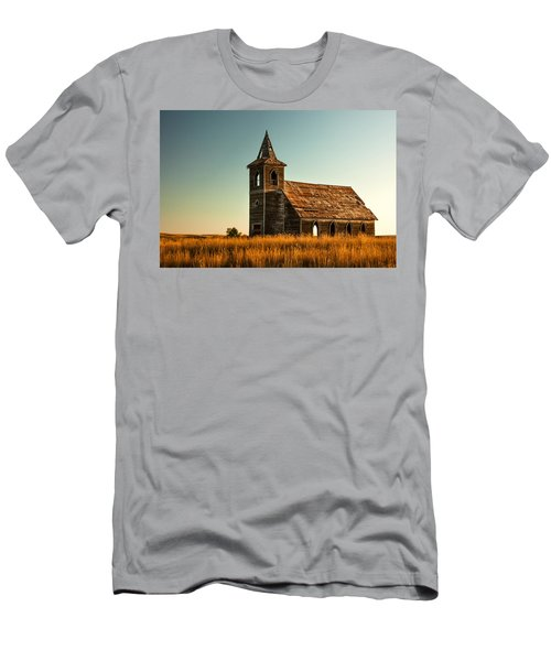 Men's T-Shirt (Athletic Fit) featuring the photograph Deserted Devotion by Todd Klassy