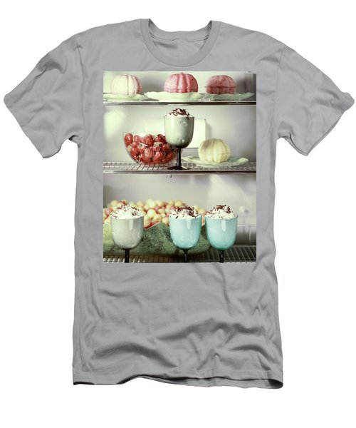 Desserts In A Refrigerator Men's T-Shirt (Athletic Fit)