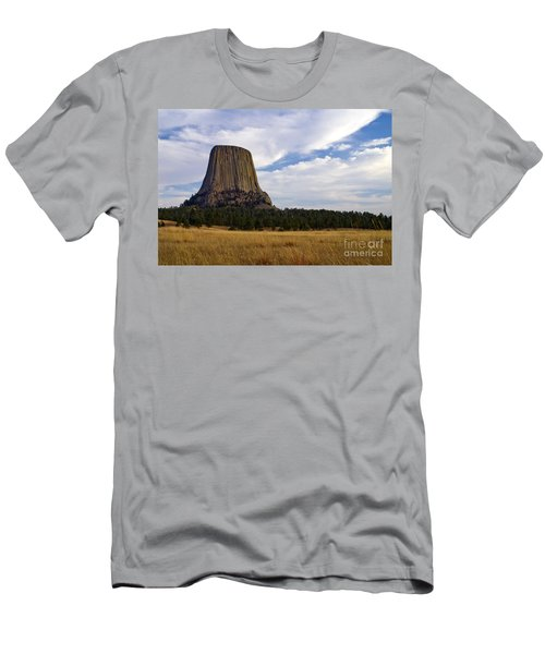 Devil's Tower No.2 Men's T-Shirt (Athletic Fit)
