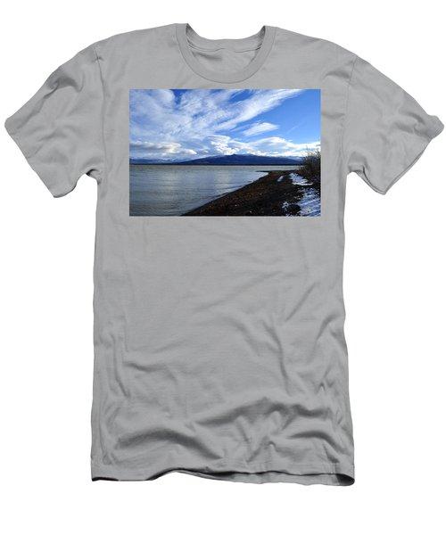 Dezadeash Lake Men's T-Shirt (Athletic Fit)