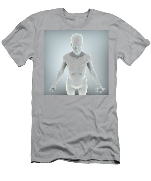 Digital Being Men's T-Shirt (Athletic Fit)