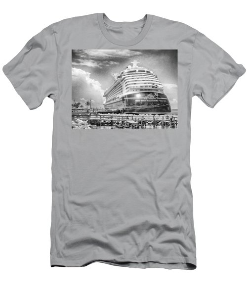 Men's T-Shirt (Athletic Fit) featuring the photograph Disney Fantasy by Howard Salmon