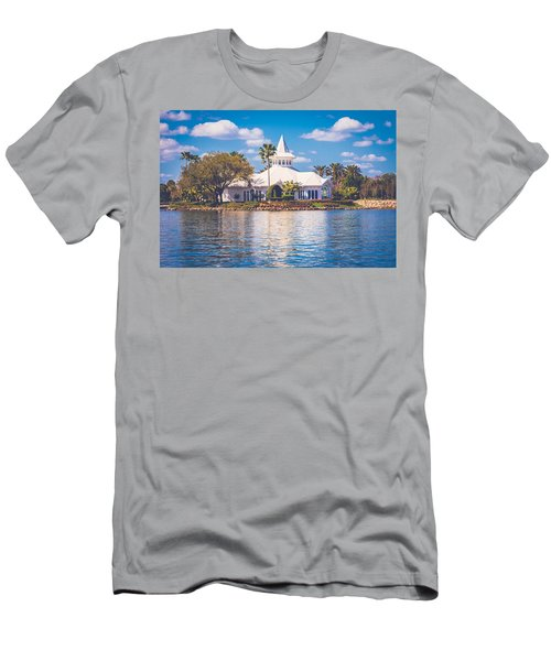 Disney's Wedding Pavilion Men's T-Shirt (Athletic Fit)