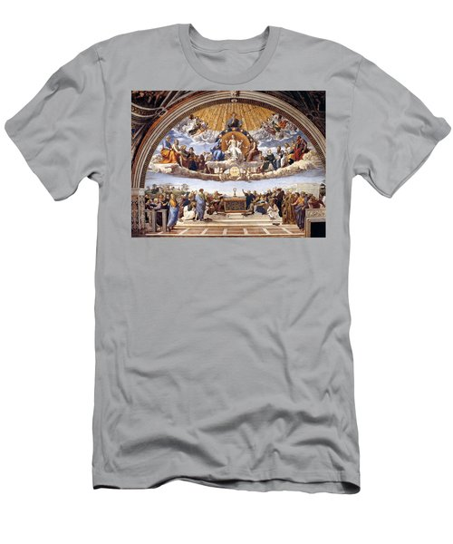 Disputation Of The Eucharist  Men's T-Shirt (Athletic Fit)