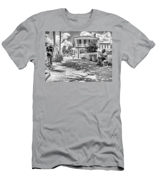 Men's T-Shirt (Slim Fit) featuring the photograph Distraction by Howard Salmon