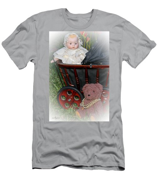 Doll And Teddy Men's T-Shirt (Athletic Fit)