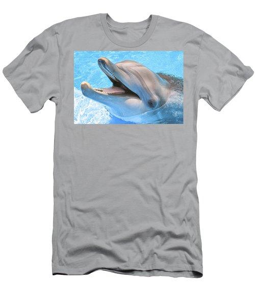 Joyous Smile Men's T-Shirt (Athletic Fit)