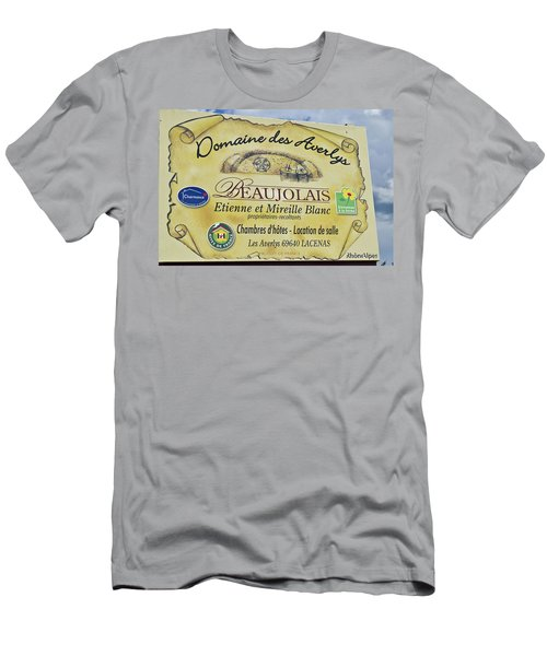 Domaine Des Averlys Men's T-Shirt (Athletic Fit)