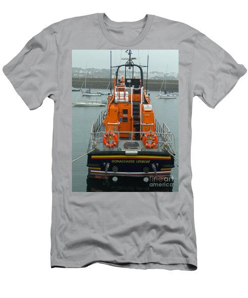 Donaghadee Rescue Lifeboat Men's T-Shirt (Athletic Fit)
