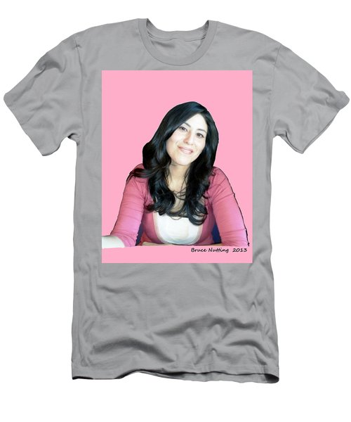 Donna In Pink Men's T-Shirt (Athletic Fit)