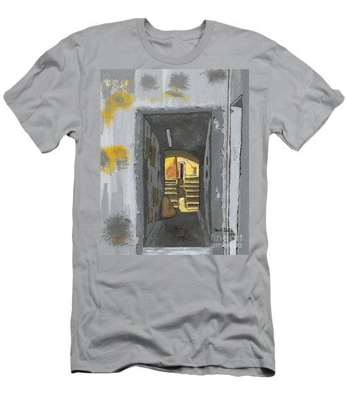 Doorway In Cinque Terra Men's T-Shirt (Athletic Fit)