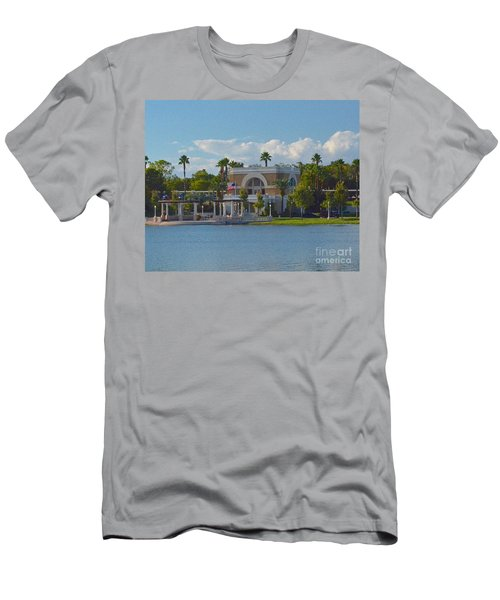 Down By The Station Men's T-Shirt (Athletic Fit)