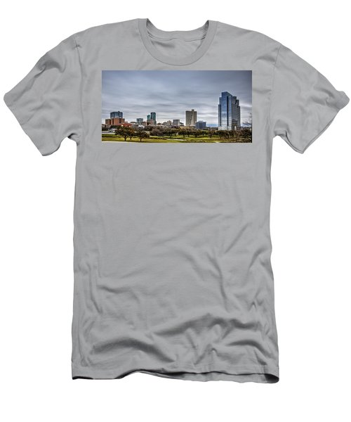 Downtown Fort Worth Trinity Trail Men's T-Shirt (Athletic Fit)