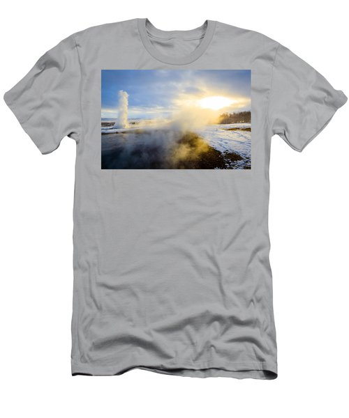 Drawn To The Sun Men's T-Shirt (Athletic Fit)