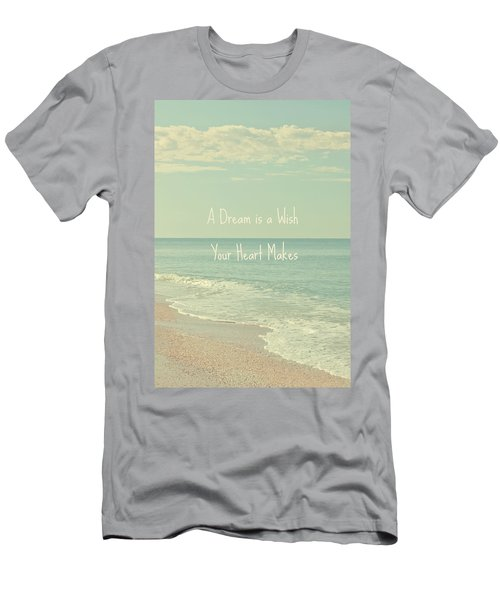 Dreams And Wishes Men's T-Shirt (Athletic Fit)