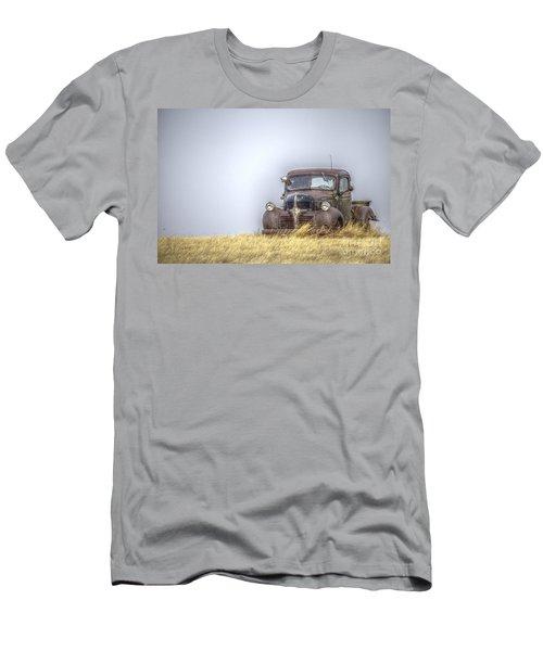 A Rusty Abandoned Truck Near Sturgis South Dakota Men's T-Shirt (Athletic Fit)