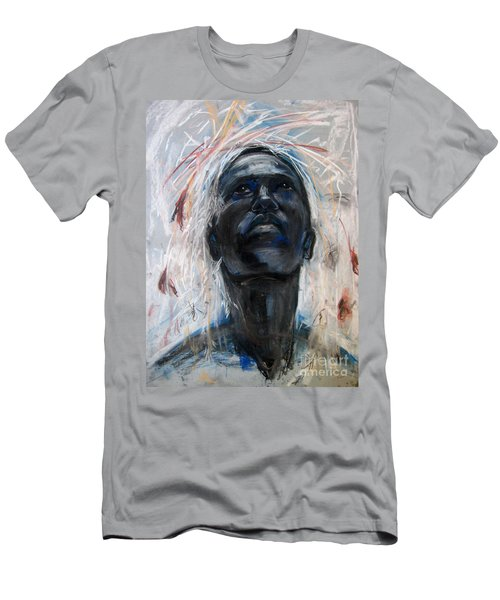 Men's T-Shirt (Athletic Fit) featuring the drawing Drought by Gabrielle Wilson-Sealy