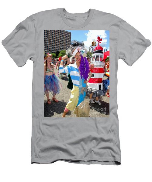 Men's T-Shirt (Slim Fit) featuring the photograph Duality by Ed Weidman