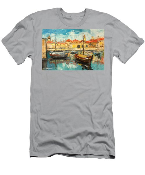Dubrovnik - Croatia Men's T-Shirt (Athletic Fit)