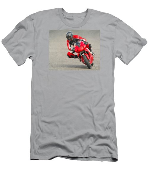 Ducati 900 Supersport Men's T-Shirt (Slim Fit) by Jerry Fornarotto