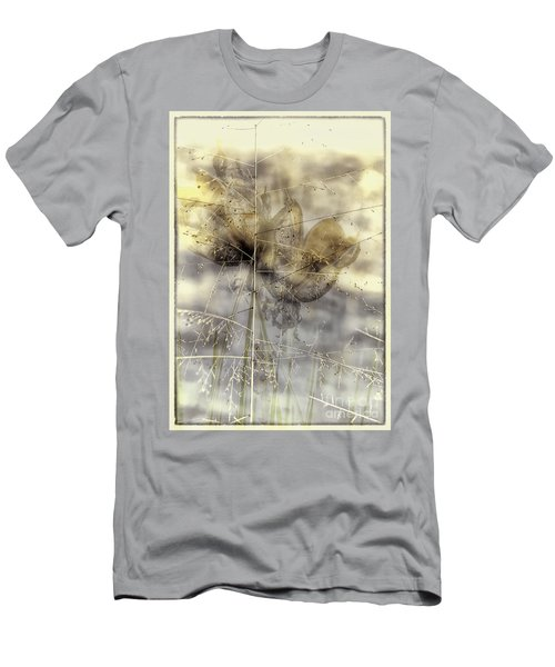 Dune Grass On Yucca Men's T-Shirt (Athletic Fit)