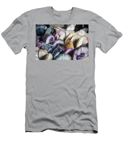 Dyed Geodes Men's T-Shirt (Athletic Fit)