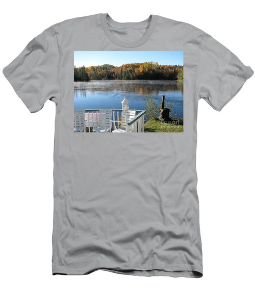 Early Autumn Morning Men's T-Shirt (Athletic Fit)