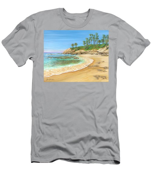Early Morning Laguna Men's T-Shirt (Athletic Fit)