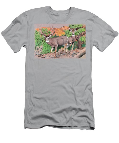 Early Morning Retreat Men's T-Shirt (Athletic Fit)