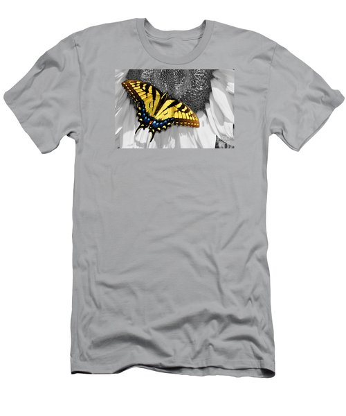 Eastern Tiger Swallow Tail  Men's T-Shirt (Athletic Fit)
