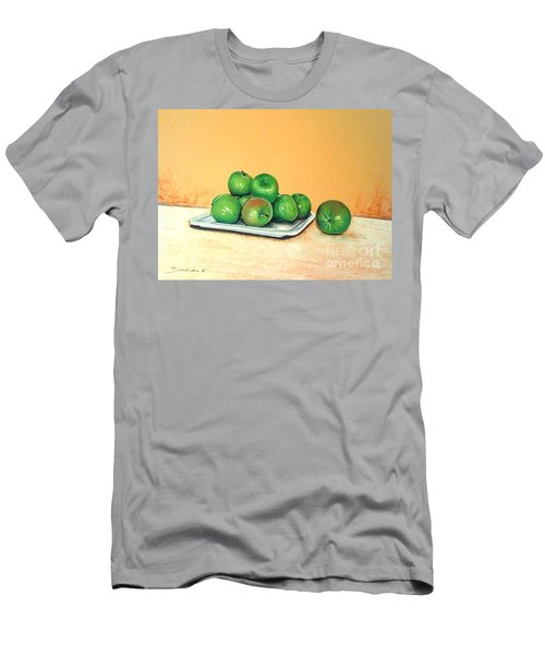 Eat Green Men's T-Shirt (Athletic Fit)