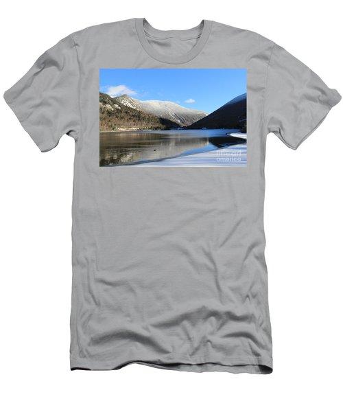Echo Lake Franconia Notch Men's T-Shirt (Athletic Fit)