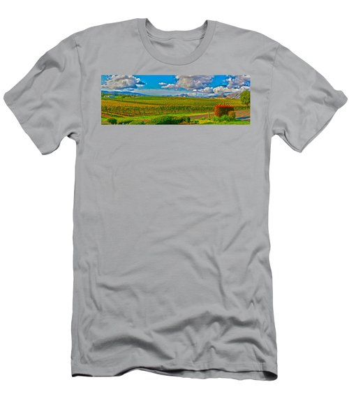 Edna Wineries Ca Men's T-Shirt (Athletic Fit)