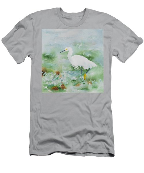 Egret 2 Men's T-Shirt (Athletic Fit)