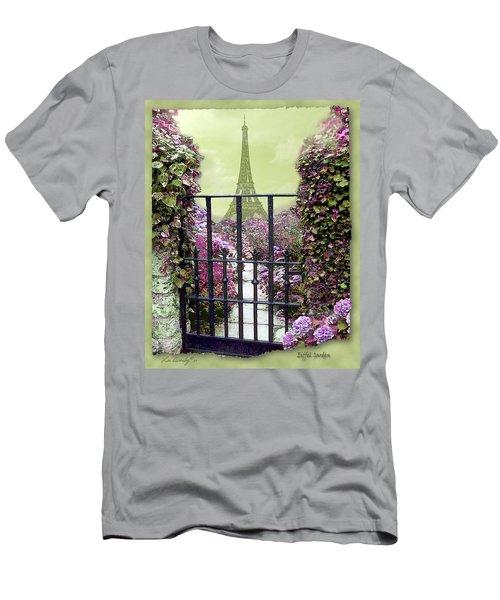 Eiffel Garden Men's T-Shirt (Athletic Fit)