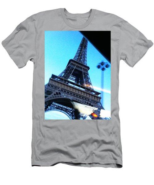 Eiffel In Motion Men's T-Shirt (Athletic Fit)