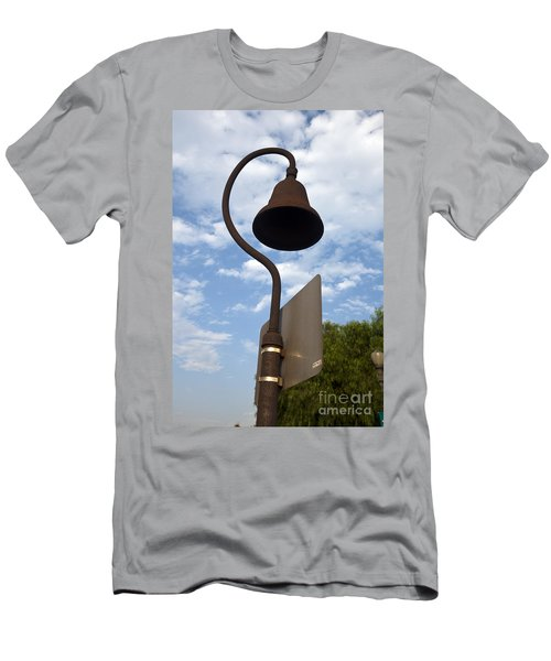 El Camino Real Bell Outside Of San Gabriel Mission Men's T-Shirt (Athletic Fit)