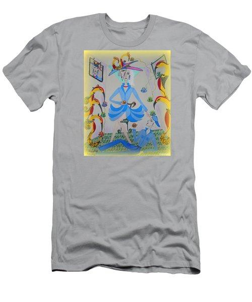 Eleonore Tea Party Men's T-Shirt (Athletic Fit)