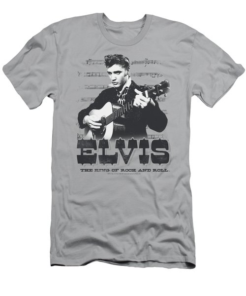 Elvis - The King Of Men's T-Shirt (Athletic Fit)