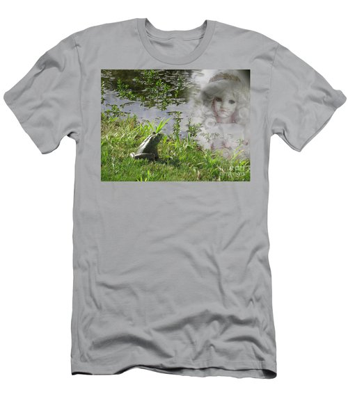 Men's T-Shirt (Slim Fit) featuring the photograph Enchanted Prince Fairy Tale by Ella Kaye Dickey