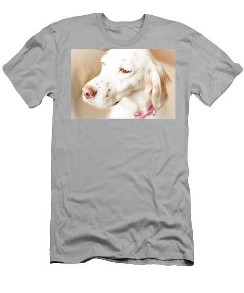 English Setter In Natural Light Men's T-Shirt (Athletic Fit)